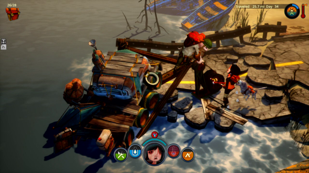 The Flame in the Flood - Switch - Press - 3